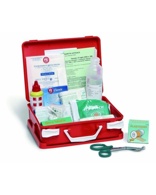 Valigetta pronto soccorso (per aziende o unità produttive con meno di tre lavoratori) Gruppo C Valigetta prontosoccorso C005