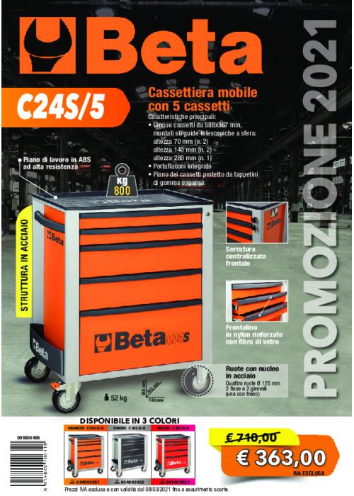 Beta Cassettiera C24/S5